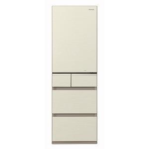 パナソニック 5ドア冷蔵庫(406L・左開き) NR-E414GVL-N シャンパンゴールド (標準設置無料), MERCURY STORE:a731eb0d --- officewill.xsrv.jp