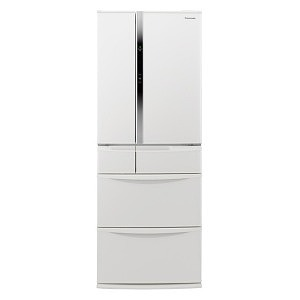パナソニック 6ドア冷蔵庫(451L・フレンチドア) NR-FVF454-W ハーモニーホワイト(標準設置無料)
