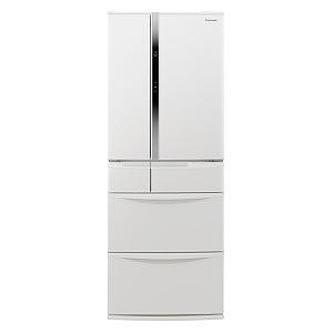 パナソニック 冷蔵庫 [6ドア/観音開きタイプ/501L] NR-FVF504-W ハーモニーホワイト(標準設置無料)