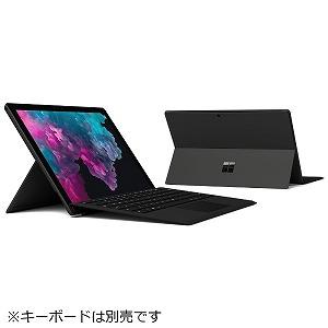 マイクロソフト Windowsタブレット Surface Pro 6(サーフェスプロ6) KJT-00023 ブラック [intel Core i5/SSD:256GB/メモリ:8GB/2018年10月モデル]