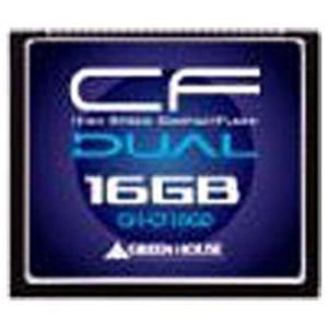 グリーンハウス 16GBコンパクトフラッシュ GH-CF16GD