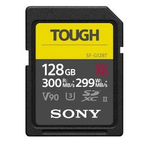 ソニー 128GB SDXC UHS-II メモリーカード Class10 SF-G128T