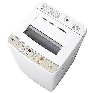 AQUA 全自動洗濯機(洗濯6.0kg) AQW-S60G(W) ホワイト(標準設置無料)