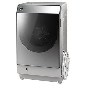 (2018年11月29日発売予定)シャープ ドラム式洗濯乾燥機(洗濯11.0kg /乾燥6.0kg /左開き) ES-W111-SL シルバー系(標準設置無料)