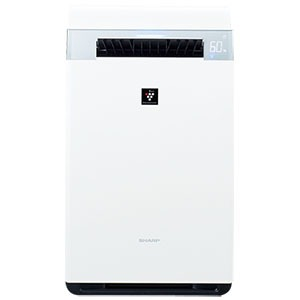 (2018年11月15日発売予定)シャープ 加湿空気清浄機 [適用畳数:34畳 /最大適用畳数(加湿):21畳 /PM2.5対応] KI-JX75-W ホワイト系(送料無料)