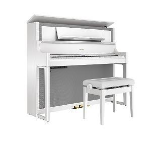 ローランド 電子ピアノ 白鏡面 [88鍵盤] LX708-PWS(標準設置無料)
