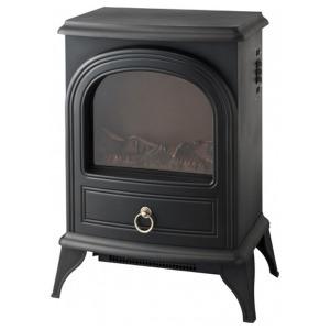 スリーアップ 暖炉型ヒーター 「Nostalgie」(1200W) CHT-1540BK ブラック(送料無料)
