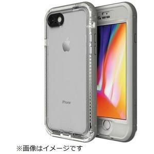 トーン iPhone 8用 LIFEPROOF nuud Case SNOWCAPPED WHITE LPNUUDIP8SC(Whi