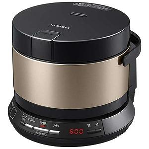 日立 HITACHI 炊飯器 「おひつ御膳」[2合/圧力IH] RZ-BS2M ブラウンゴールド