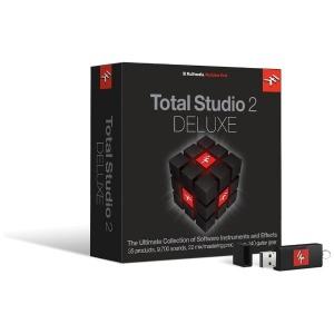 IKMULTIMEDIA 〔Win・Mac版/USBメモリ〕 Total Studio 2 DELUXE IKTB2DELHCDIN