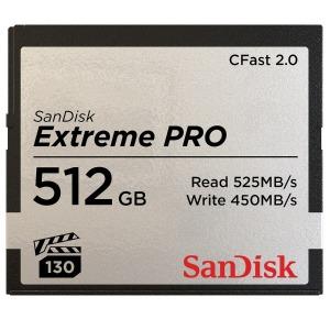 サンディスク 512GB CFast2.0 カード SanDisk Extreme PRO SDCFSP-512G-J46D