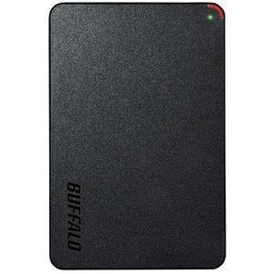 バッファロー HD-PCFS2.0U3-BBA 外付けHDD MiniStation HD-PCFSU3-Aシリーズ ブラック [2.5インチ](送料無料)