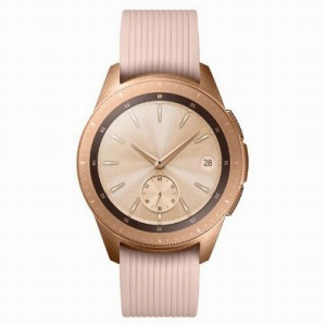 サムスン Galaxy Watch (42mm) SM-R810NZDAXJP ローズゴールド