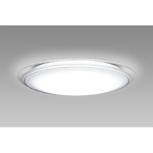 NECライティング リモコン付LEDシーリングライト(~8畳) HLDCKB0899SG [白色~電球色]