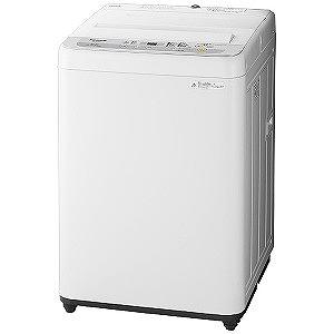 パナソニック 全自動洗濯機(洗濯6.0kg) NA-F60B12-S シルバー(標準設置無料)