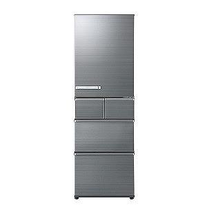 AQUA 5ドア冷蔵庫(415L・右開き) AQR-SV42H-S チタニウムシルバー(標準設置無料)