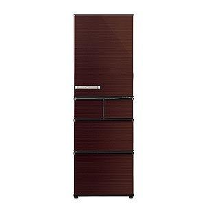 AQUA 5ドア冷蔵庫(415L・右開き) AQR-SV42H-T グロスブラウン(標準設置無料)