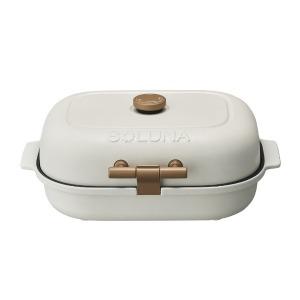 ドウシシャ 焼き芋メーカー 焼きおにぎりプレート付 「ベイクフリー」 TFW-103 ホワイト
