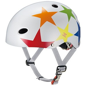 OGK 子供用ヘルメット FR-KIDS(スターホワイト/50~54cm) FRKIDS(WH