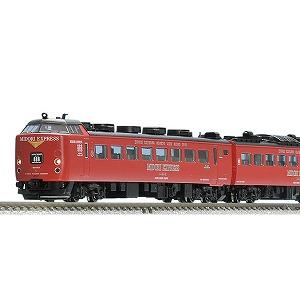 トミーテック 「Nゲージ」 98250 JR 485系特急電車(MIDORI EXPRESS)セットA(4両)