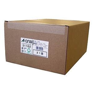 エーワン ラベルシール[レーザープリンタ兼用] (A4:21面 ・1000シート) 31162