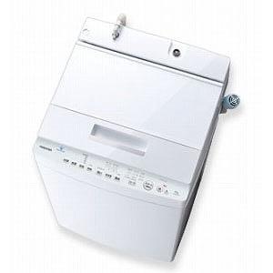 東芝 全自動洗濯機 (洗濯8.0kg) AW-8D7-W グランホワイト(標準設置無料)