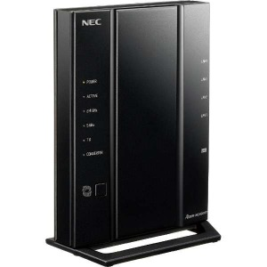 NEC 無線LANルーター(Wi-Fiルーター) 親機単体 PA-WG2600HP3(送料無料)