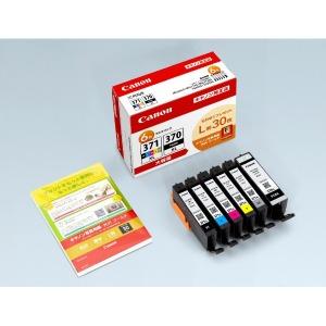 Canon 「L版用紙同梱」インクタンク BCI-371XL+370XL/6MPV