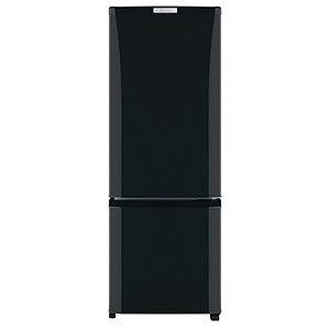 三菱 2ドア冷蔵庫(168L・右開き) MR-P17D-B サファイアブラック(標準設置無料)