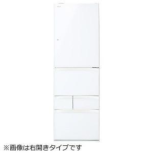東芝 5ドア冷蔵庫(411L・左開き) GR-P41GXVL-EW グランホワイト(標準設置無料)