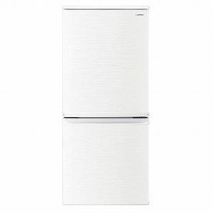 シャープ 2ドア冷蔵庫(137L・どっちもドア) SJ-D14E-W ホワイト系 (標準設置無料)