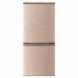 シャープ 2ドア冷蔵庫(137L・どっちもドア) SJ-D14E-N シャープ ブロンズ系 ブロンズ系 (標準設置無料), クズマキマチ:7835d148 --- officewill.xsrv.jp