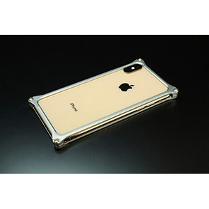 ギルドデザイン ギルドデザイン ソリッドバンパー for iPhone XS MAX GI-423S シルバー