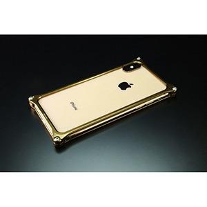 ギルドデザイン ギルドデザイン ソリッドバンパー for iPhone XS MAX GI-423SG シグネイチャーゴールド