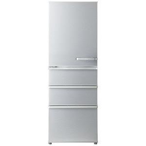 AQUA 4ドア冷蔵庫(375L・左開き) AQR-36G2L-S ミスティシルバー(標準設置無料)
