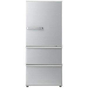 AQUA 3ドア冷蔵庫(272L・右開き) AQR-27G2-S ミスティシルバー(標準設置無料)