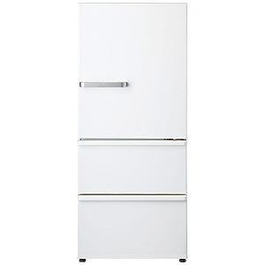 AQUA 3ドア冷蔵庫(272L・右開き) AQR-27G2-W ナチュラルホワイト(標準設置無料)