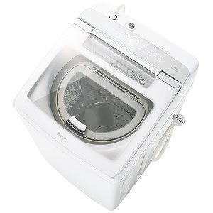 AQUA 縦型洗濯乾燥機[洗濯9.0kg /乾燥4.5kg /ヒーター乾燥(排気タイプ) /上開き] AQW-GTW90G-W ホワイト(標準設置無料)