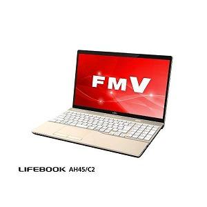 富士通 LIFEBOOK AH45/C2 FMVA45C2G2 シャンパンゴールド [15.6型 /intel Core i3 /HDD:1TB /メモリ:4GB /2018年11月モデル]