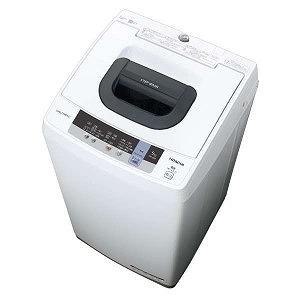 日立 全自動洗濯機(洗濯5.0kg) NW-50C ピュアホワイト(標準設置無料)