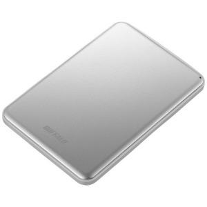 バッファロー 外付けHDD シルバー [ポータブル型 /2TB] HD-PUS2.0U3-SVD