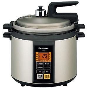 パナソニック 電気圧力鍋 SR‐P37‐N (ノーブルシャンパン)(送料無料)