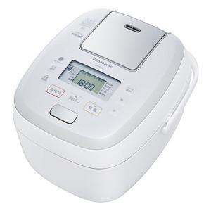 パナソニック 炊飯器 可変圧力おどり炊き ホワイト [5.5合 /圧力IH] SR-PB108(送料無料)