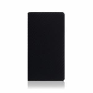 ROA iPhone XS Max 6.5インチ用 carbon leather case ブラック SD13721I65(ブラ