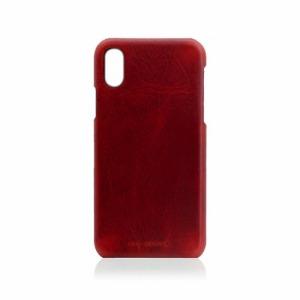 ROA iPhone XS Max 6.5インチ用 Badalassi Wax Bar case SD13731I65(レット