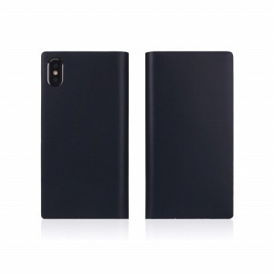 ROA iPhone XS Max 6.5インチ用 Calf Skin Leather Diary SD13741I65(ネイヒ