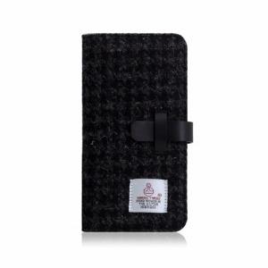 ROA iPhone XS Max 6.5インチ用 Harris Tweed Diary SD13749I65(ブラ