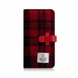 ROA iPhone XS Max 6.5インチ用 Harris Tweed Diary SD13753I65(レット