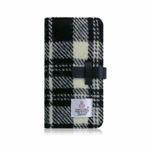 ROA iPhone XS Max 6.5インチ用 Harris Tweed Diary SD13754I65(ホワイ