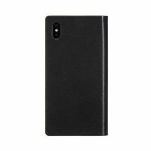 ROA iPhone XS Max 6.5インチ用 Dot Studs Diary ブラック EB14406I65(ブラ